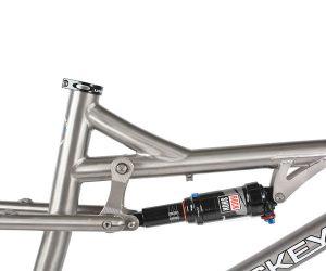 Lynskey Summit 27.5 FS 140 TITANIUM FRAME | Gerrit Bikes